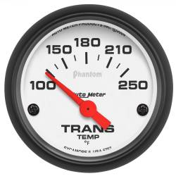 AutoMeter - AutoMeter Phantom Electric Transmission Temperature Gauge 5757