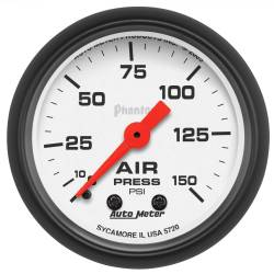 AutoMeter - AutoMeter Phantom Mechanical Air Pressure Gauge 5720