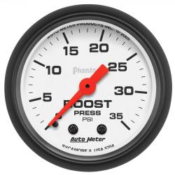 AutoMeter - AutoMeter Phantom Mechanical Boost Gauge 5704