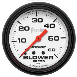 AutoMeter - AutoMeter Phantom Mechanical Boost Gauge 5802