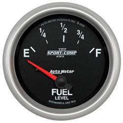 AutoMeter - AutoMeter Sport-Comp II Electric Fuel Level Gauge 7614