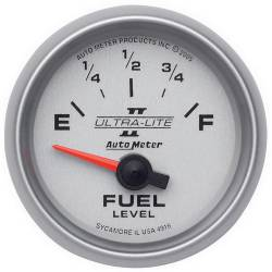 AutoMeter - AutoMeter Ultra-Lite II Electric Fuel Level Gauge 4916