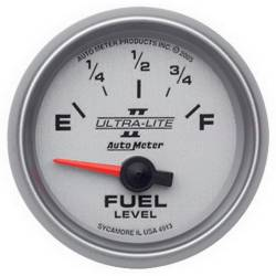AutoMeter - AutoMeter Ultra-Lite II Electric Fuel Level Gauge 4913