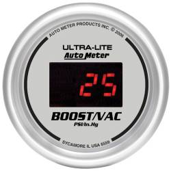 AutoMeter - AutoMeter Ultra-Lite Digital Boost/Vacuum Gauge 6559