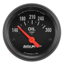 AutoMeter - AutoMeter Z-Series Electric Oil Temperature Gauge 2639
