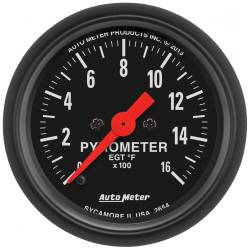 AutoMeter - AutoMeter Z-Series Electric Pyrometer Gauge Kit 2654