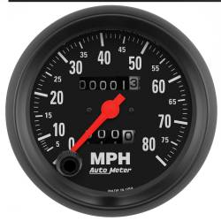 AutoMeter - AutoMeter Z-Series In-Dash Mechanical Speedometer 2690