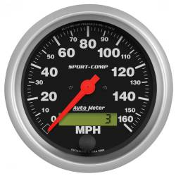 AutoMeter - AutoMeter Sport-Comp Electric Programmable Speedometer 3988