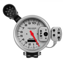 AutoMeter - AutoMeter Pro Stock Silver Tachometer 6834