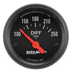 AutoMeter - AutoMeter Z-Series Electric Differential Temperature Gauge 2636