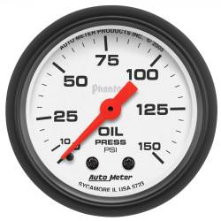 AutoMeter - AutoMeter Phantom Mechanical Oil Pressure Gauge 5723
