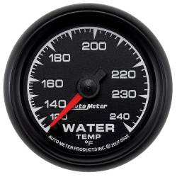 AutoMeter - AutoMeter ES Mechanical Water Temperature Gauge 5932