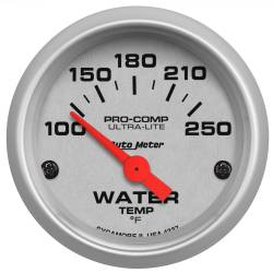 AutoMeter - AutoMeter Ultra-Lite Electric Water Temperature Gauge 4337