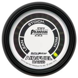 AutoMeter - AutoMeter Phantom II Electric Air Fuel Ratio Gauge 7575