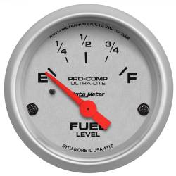 AutoMeter - AutoMeter Ultra-Lite Electric Fuel Level Gauge 4317