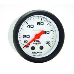 AutoMeter - AutoMeter Phantom Mechanical Oil Pressure Gauge 5721