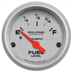 AutoMeter - AutoMeter Ultra-Lite Electric Fuel Level Gauge 4314