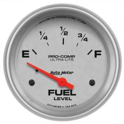 AutoMeter - AutoMeter Ultra-Lite Electric Fuel Level Gauge 4414