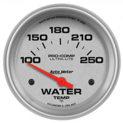 AutoMeter - AutoMeter Ultra-Lite Electric Water Temperature Gauge 4437