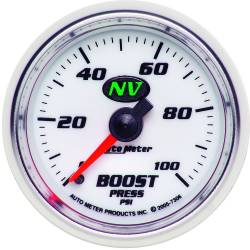 AutoMeter - AutoMeter NV Mechanical Boost Gauge 7306