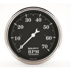 AutoMeter - AutoMeter Old Tyme Black Electric Tachometer 1798