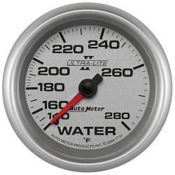 AutoMeter - AutoMeter Ultra-Lite II Mechanical Water Temperature Gauge 7731