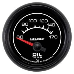 AutoMeter - AutoMeter ES Electric Oil Temperature Gauge 5948-M