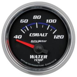 AutoMeter - AutoMeter Cobalt Electric Water Temperature Gauge 6137-M