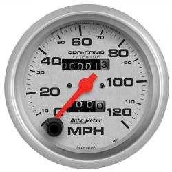 AutoMeter - AutoMeter Ultra-Lite In-Dash Mechanical Speedometer 4492