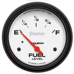 AutoMeter - AutoMeter Phantom Electric Fuel Level Gauge 5816