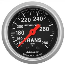 AutoMeter - AutoMeter Sport-Comp Mechanical Transmission Temperature Gauge 3351