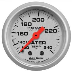 AutoMeter - AutoMeter Ultra-Lite Mechanical Water Temperature Gauge 4333