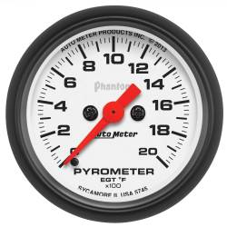 AutoMeter - AutoMeter Phantom Electric Pyrometer Gauge Kit 5745