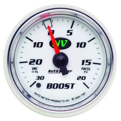 AutoMeter - AutoMeter NV Mechanical Boost/Vacuum Gauge 7307