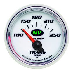 AutoMeter - AutoMeter NV Electric Transmission Temperature Gauge 7349