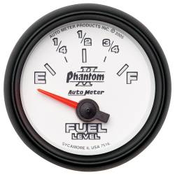 AutoMeter - AutoMeter Phantom II Electric Fuel Level Gauge 7516