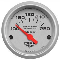 AutoMeter - AutoMeter Ultra-Lite Electric Differential Temperature Gauge 4349