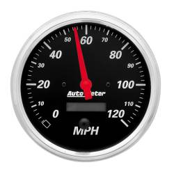 AutoMeter - AutoMeter Designer Black Electric Programmable Speedometer 1489