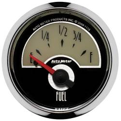 AutoMeter - AutoMeter Cruiser Fuel Level Gauge 1113