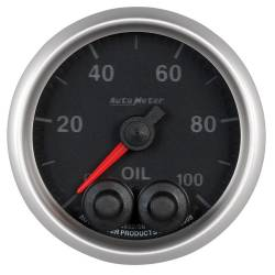 AutoMeter - AutoMeter Elite Series Oil Pressure Gauge 5652