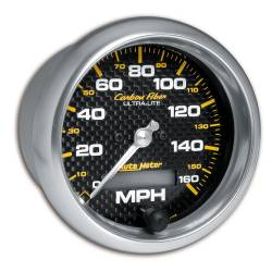 AutoMeter - AutoMeter Carbon Fiber In-Dash Electric Speedometer 4789