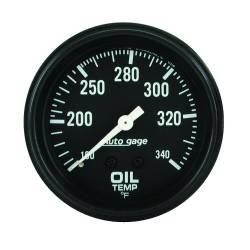 AutoMeter - AutoMeter Autogage Oil Temperature Gauge 2314