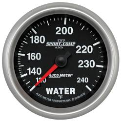 AutoMeter - AutoMeter Sport-Comp II Mechanical Water Temperature Gauge 7632