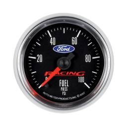 AutoMeter - AutoMeter Ford Racing Series Electric Fuel Pressure Gauge 880080