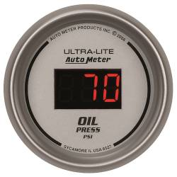 AutoMeter - AutoMeter Ultra-Lite Digital Oil Pressure Gauge 6527