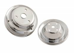 Mr Gasket - Mr Gasket Chrome Plated Pulley Set 4962