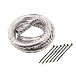 Mr. Gasket - Mr. Gasket Chrome Split Loom Tubing 4523