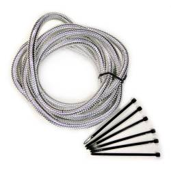 Mr. Gasket - Mr. Gasket Chrome Split Loom Tubing 4522