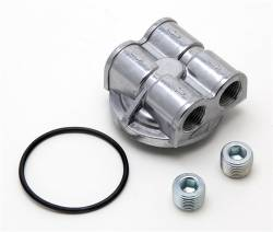 Trans-Dapt Performance Products - Trans-Dapt Performance Products 90 Degree Oil Filter Bypass Adapter 1450