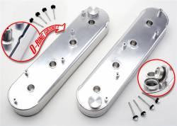 Trans-Dapt Performance Products - Trans-Dapt Performance Products Hamburgers Fabricated Valve Cover Set 1061